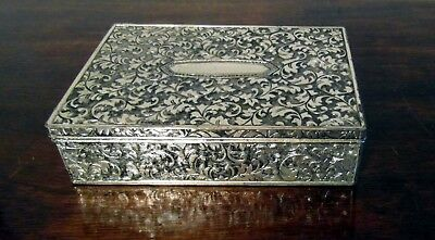 Vintage Silver Plated Trinket/Jewellery Box - By Homemaker