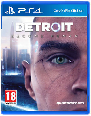 Detroit: Become Human PS4 ITALIANO PLAYSTATION 4 NUOVO & SIGILLATO
