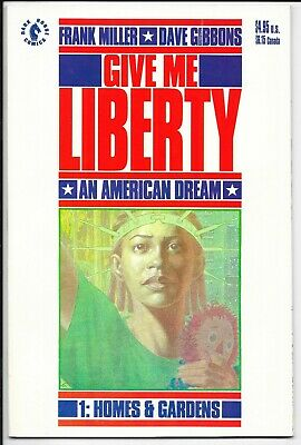 Dark Horse Comics - Give Me Liberty 1: Homes and Gardens - June 1990