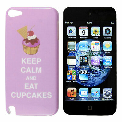 Cake Pattern Pink Hard Back Cover Case IMD for iPod Touch 5 5th Gen