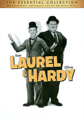 Laurel  Hardy: The Essential Collection (DVD, 2011, 10-Disc Set). Brand new!
