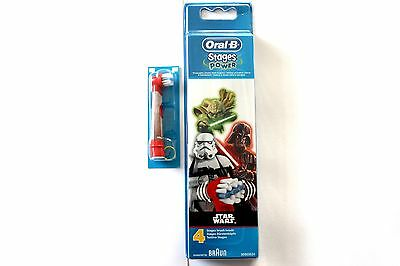 Oral-B By Braun Stages Power Star Wars Toothbrush Heads - Please Choose Amount: