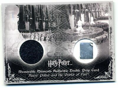 P8 019/400 Yule Ball Drapes & Programme Double Prop Card Harry Potter GoF MM MM2