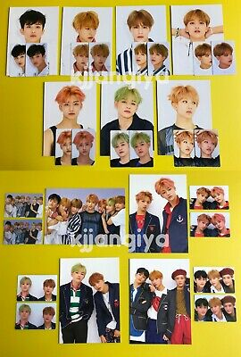 NCT Dream We Go Up SMTOWN Giftshop Official Postcard + Sticker PC SET