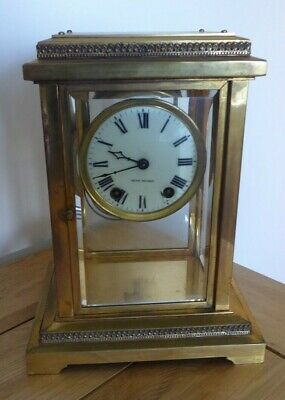 Seth Thomas Antique Clock WORKING WITH KEY & PENDULEM & Weighs over 5kg