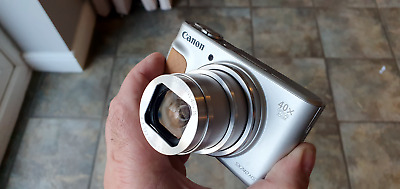 Canon PowerShot SX740 HS 20.3MP Digital Camera - Silver- purchased from Canon UK