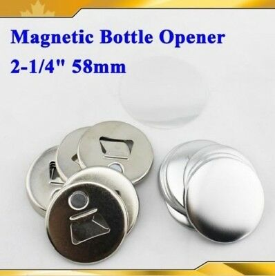 58mm 50 sets Bottle Opener Button For button maker