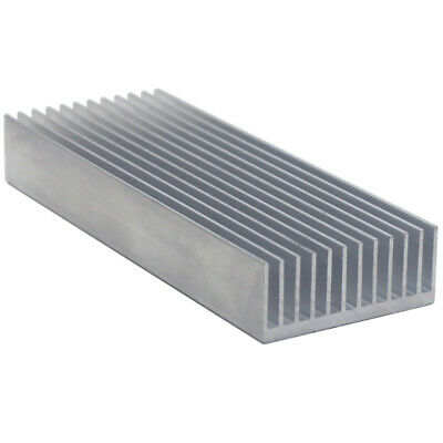 100*37*15mm Anodized Aluminium Heat Sink For Power Transistor/TO-126/TO-220