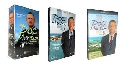 Doc Martin: The Complete Series 1-8 + Movies ( 21 DISCS).