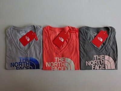 ebfd929c4 NORTH FACE WOMEN'S Short Sleeve Tri-Blend Pocket T Shirt NWT ...