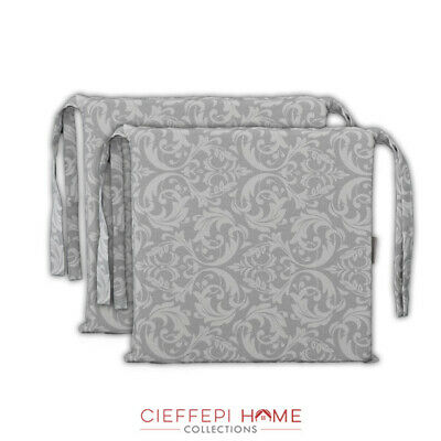 Set 2 Cuscini per sedia sedie FRIBURGO - Cieffepi Home Collections