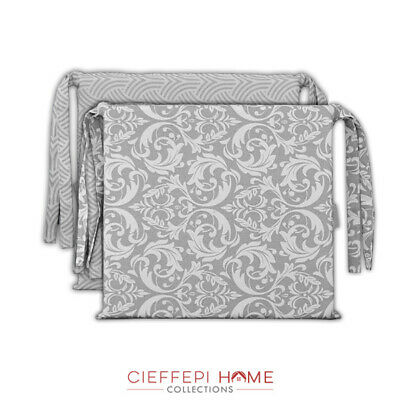 Set 2 Cuscini per sedia sedie LOSANNA/FRIBURGO - Cieffepi Home Collections