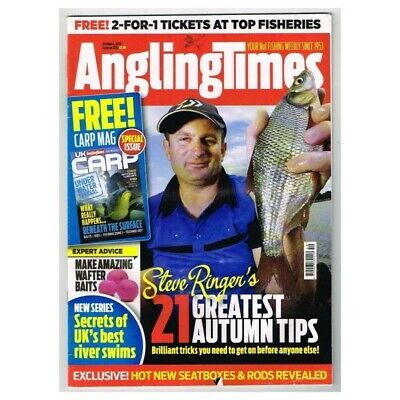 Angling Times Magazine October 4 2016 MBox3590/I  21 Greatest Autumn Tips