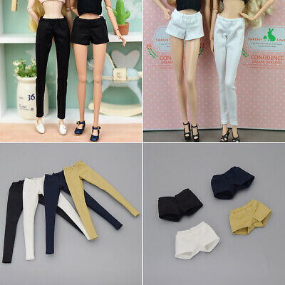 Toy Doll Clothes Elastic Trousers Long Pants For 11.5inch Doll Shorts
