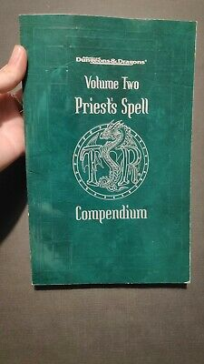 Advanced Dungeons & Dragons Priest's Spells Compendium Volume Two