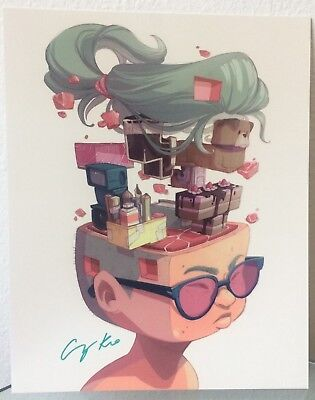 Cassey Kuo ''Clear the Blocks' - SIGNED FULL BLEED PRINT