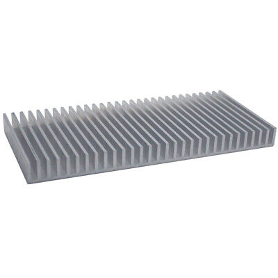100*220*18mm Anodized Aluminium Heat Sink For CPU Power Transistor TO-126 TO-220
