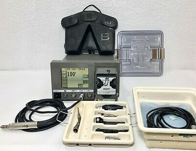 Stryker 5100-50 TPS Drill Console 5100-8 Footswitch 5400-110 Core U HT Drill Set
