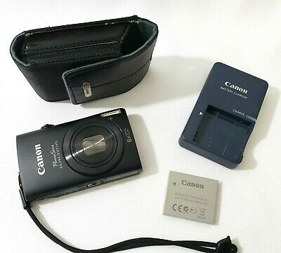CANON PowerShot ELPH 310 HS 8x Optical Zoom FULL HD 12.1 MP Camera w Charger