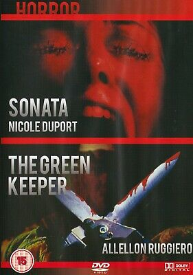 Sonata / The Green Keeper (DISC ONLY) DVD Horror