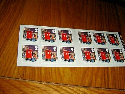 Royal Mail Stamps.  Xmas 1st Class Book of 12 Letter stamps.
