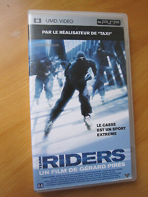 PSP UMD Video - team riders - français - ok film action de gerard pirès (taxi)