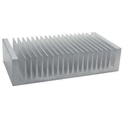 100*195*45mm Anodized Aluminium Heat Sink For CPU Power Transistor TO-126 TO-220