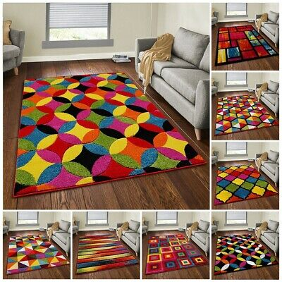 Luxury Modern Small And Large Size Carpets Multi Colour Floor Area Rug & Runners