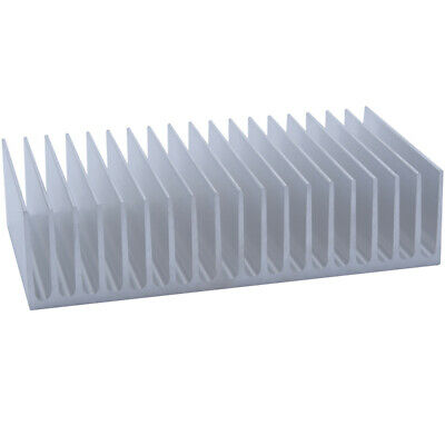 100*182*45mm Anodized Aluminium Heat Sink For CPU Power Transistor TO-126 TO-220