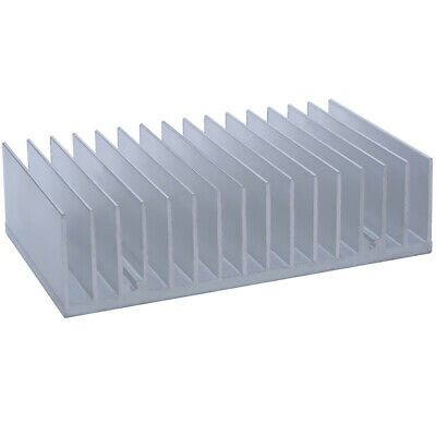 100*170*45mm Anodized Aluminium Heat Sink For CPU Power Transistor TO-126 TO-220