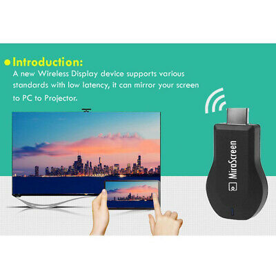 1080P MiraScreen WiFi Display Receiver HD-Fernseh-Dongle Airplay Miracast HDMI