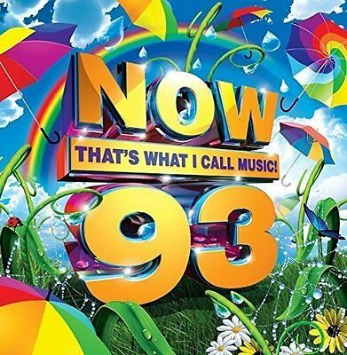 Various Artists - Now That's What I Call Music! 93 - UK CD album 2016