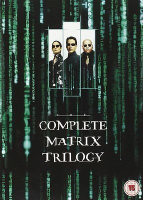 The Matrix: The Complete Trilogy - UK Region 2 DVD Box Set - Keanu Reeves