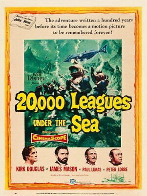 58281 Under the Sea-Most Amazing 20000 Leagues Wall Print Poster UK