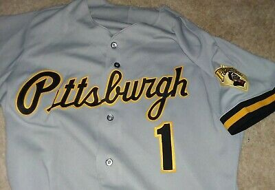 best sneakers fc922 e4846 SEWN MLB BASEBALL Pittsburgh Pirates Button Down Jersey ...