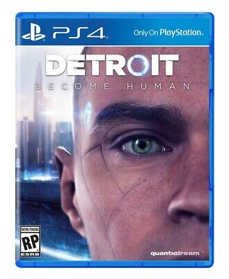 Detroit Become Human Ps4 - Free Shipping