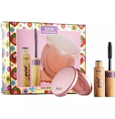Tarte ~ AMAZONIAN CLAY ~ BLUSH in First Class & Gifted MASCARA ~ New in Box