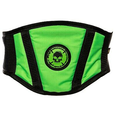Bonz-Mx Kids Childs Junior Girl Boy Kidney Mx Protection Belt Green