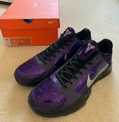 premium selection 36850 c3fd6 DS Authentic Nike Zoom Kobe V(5) Ink Purple, Men size 11.5