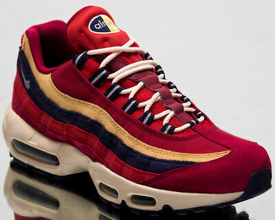 detailing 9ae2a c8e73 Mens Nike Air Max 95 PRM 538416-603 Red Crush Provence Purple NEW Size