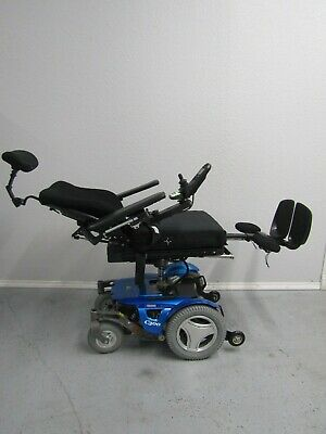 "Permobil C300 Wheelchair,Power Tilt,Recline,Legs And 8"" Lift. Pristine."