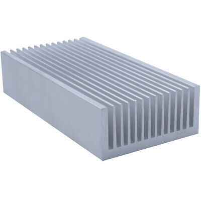 200*99*45mm Anodized Aluminium Heat Sink For CPU Power Transistor TO-126 TO-220