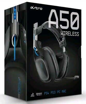 Astro A50 Gen 3 Wireless Dolby 7.1 Surround Sound Gaming Headset Sony PS4 & PC