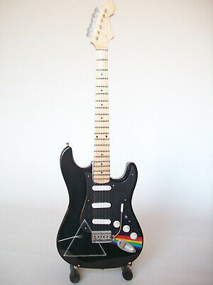 Guitare miniature Stratocaster Dark side of the moon Pink Floyd