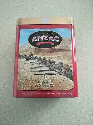 Unibic 2019 ANZAC biscuit tins