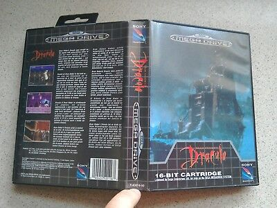 Dracula EMPTY BOX ONLY - For Sega Mega Drive Game (PAL)
