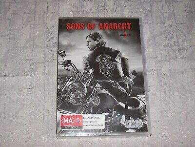 SONS OF ANARCHY COMPLETE SEASON 1 DVD 4 Disc Set BRAND NEW SEALED + FREE POST