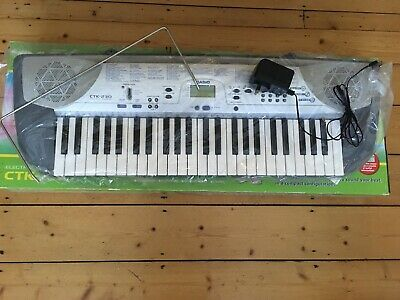 Casio CTK-230 Electric Keyboard, 49 full sized keys, excellent condition