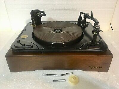 VINTAGE 1960S SEARS SILVERTONE t Portable RECORD PLAYER Mid ... on