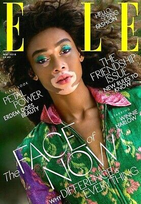 Elle Magazine Travel Size May 2018 ~ Winnie Harlow Cover ~ New ~